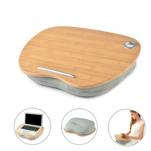 Table d'ordinateur Portable multifonction genou bureau pour 14 pouces ordinateur téléphone Flip Portable extérieur appui-tête bureau maison sieste oreiller