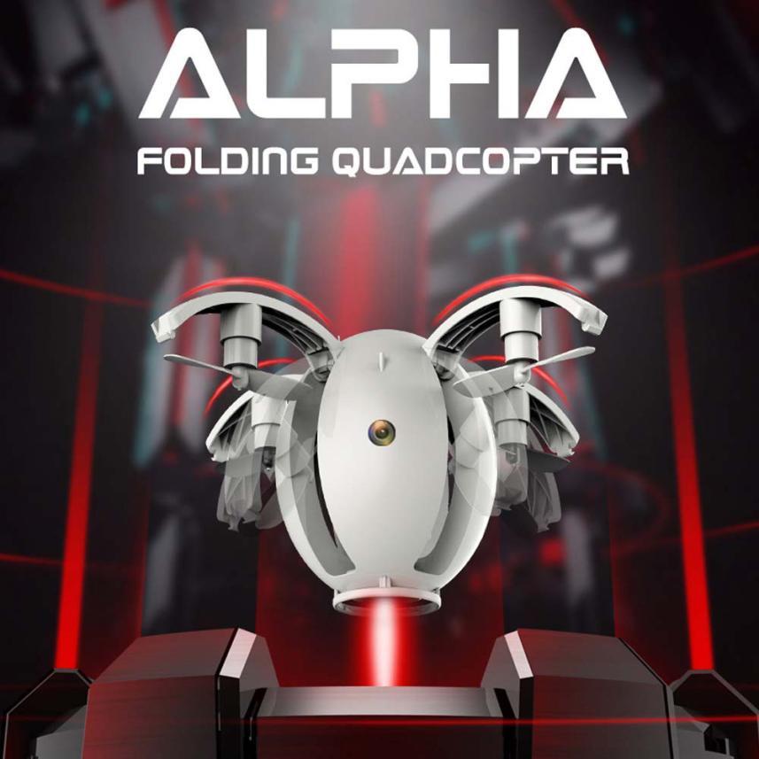 Quadcopter 2.4 GHZ 4CH 6-Axis gyro RC Quadcopter Kai Deng K130 ALPHA Pliage Transformable Oeuf Drone RTF T117