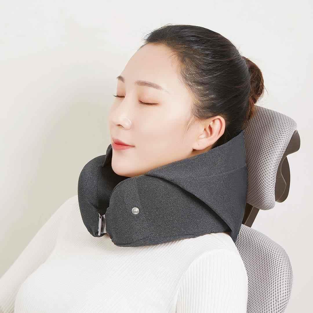 Xiao mi mi ja araba boyun yastık ortopedik gölgeleme yastıklar seyahat uçak bellek köpük U şekilli destek yumuşak uyku yardım uçak çocuklar mi