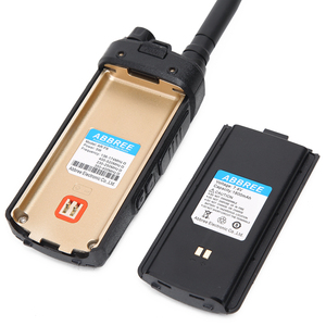 Image 2 - AR F6 ABBREE 6 أربطة شاشة عرض مزدوجة الاستعداد 999CH متعدد الوظائف VOX DTMF SOS شاشة LCD ملونة جهاز الاتصال اللاسلكي