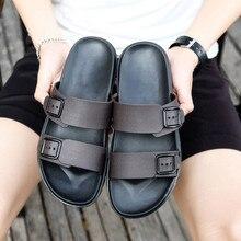 Модные мужские летние туфли; тапочки для отдыха; шлепанцы; удобная обувь; мягкие сандалии; мужские повседневные Ретро тапочки; сандалии; A3063