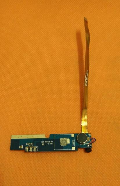 """Usado Original Mic microfone + Placa de vibração Do Motor Para OUKITEL K4000 Pro MTK6735P Quad Core 5.0 """"HD 1280x720 Frete grátis"""