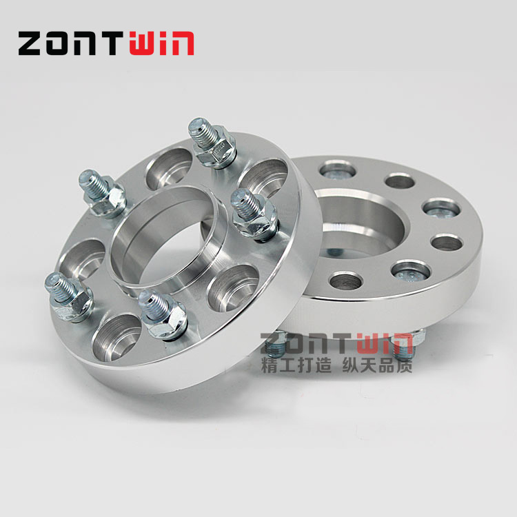 2PCS 5x114.3 15mm Hubcentric 67.1mm Aluminum Wheel Spacer Adapter 5 Lug suitable SUIT FOR DODGE Universal Car
