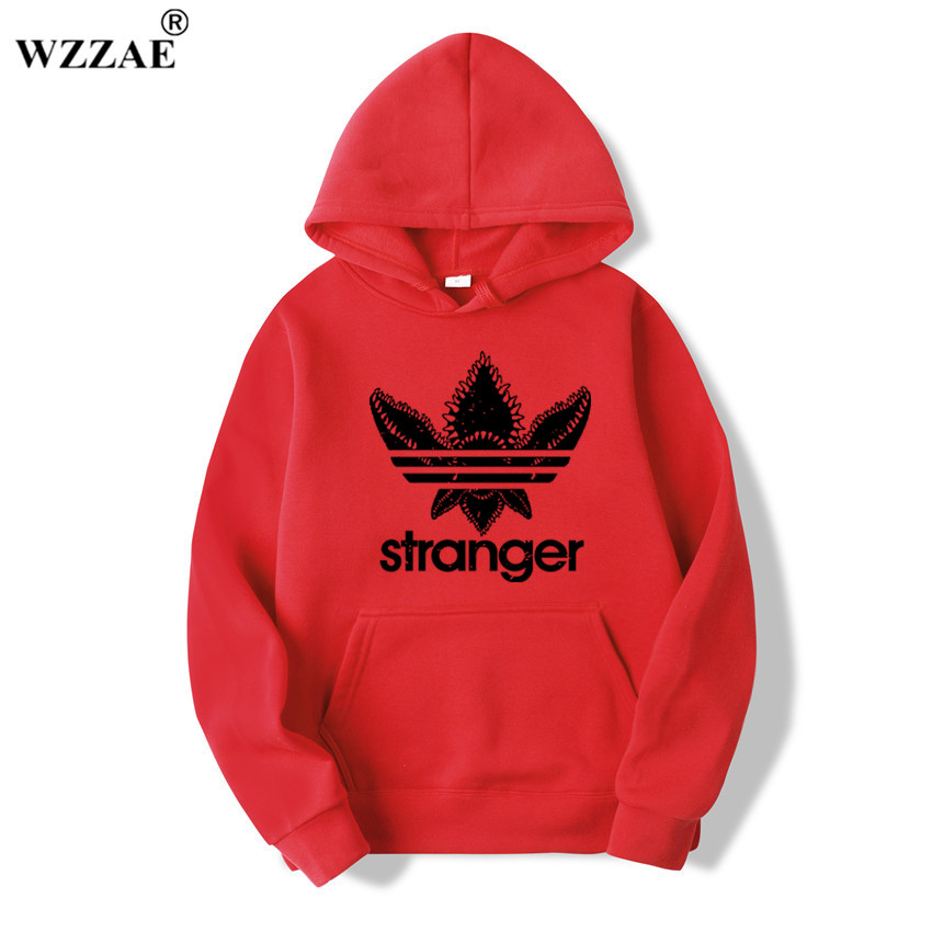 18 Brand New Fashion Stranger Things Cap Clothing Hooded Sweatshirt hoodies Men/Women Hip Hop Hoodies Plus Size Streetwear 11