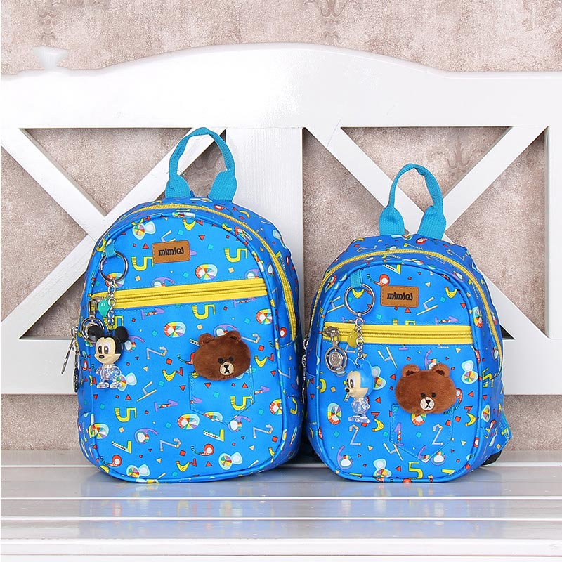 JSFINER Fashion Children School Bags Cartoon 2018 Backpack Baby Toddler Kids Book Bag Kindergarten Boy Girl Backpacking