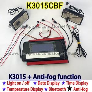Image 5 - K3015CBF מגע מתג פנל זמן תאריך טמפרטורת תצוגת אנטי ערפל רחצה אמבטיה ארון LED אור מראה שיפוץ