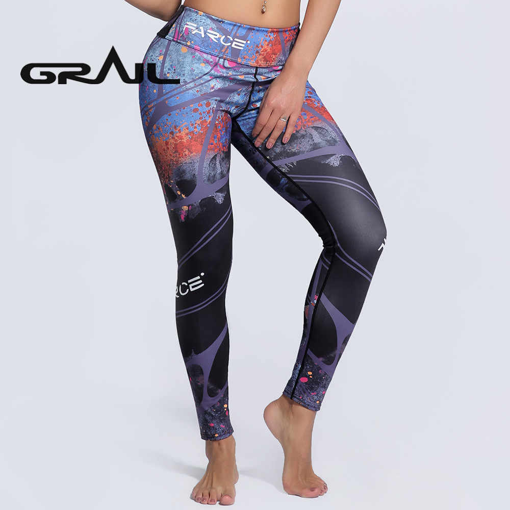 9dcf0192fc2c8 New Sexy Training Women's Sports Yoga Pants Leggings Elastic Gym Fitness  Workout Running Tights Compression Trousers