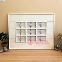Creative Combinations Of 6 Inch 9 Piece Frame Grid Minimalist Modern Photo Frame Picture Frame Swing