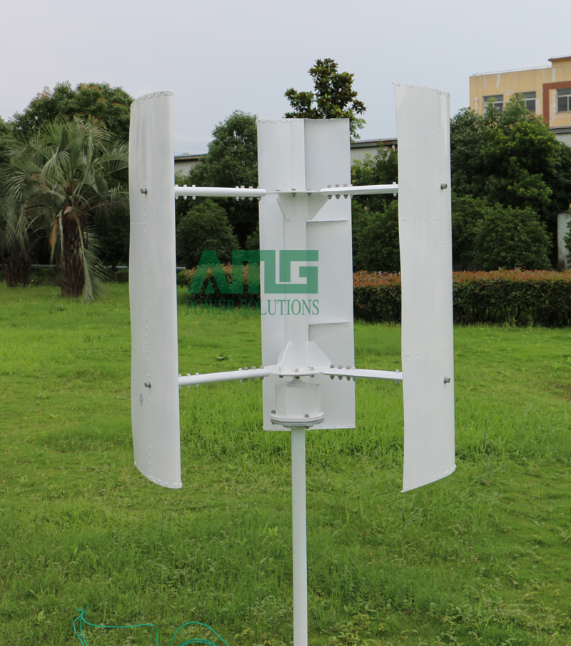 US $550 0 |Aliexpress com : Buy 200w 12v/24v H type Vertical Axis Wind  Turbine Generator VAWT for home from Reliable vertical axis wind suppliers  on