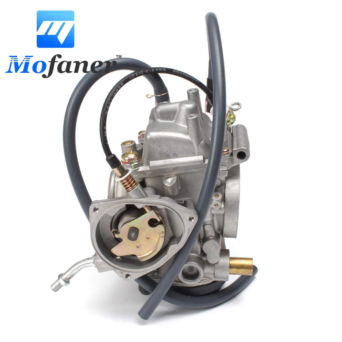 Motorcycle Engine Carburetor Carb Kit Replacement For Yamaha ATV Grizzly 450 4WD 2007-2012 Silver Overall Size 145mm atv parts accessories aluminum radiator for yamaha atv banshee yfz350 1987 2007 motorcycle parts replacement