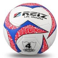REIZ 20 см 4 # футбол окружность хит Цвет Футбол тренировочные мячи противоскользящие Seemless матч обучение конкуренции мяч