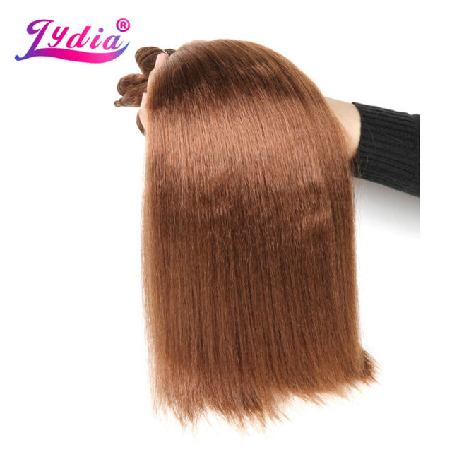 Lydia For Women Kinky Straight Synthetic Hair Extension 12 22 Inch