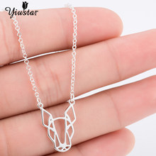 Yiustar Bull Terrier Dog Animal Generous Elegant Charm Pendant Necklace Graceful Charming Animal Necklace For Men Party Gifts(China)