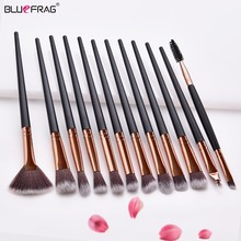 Pro Makeup Brushes Set 3/12pcs Eye Shadow Blending Eyeliner Eyelash Eyebrow For Tool Cosmetic Brush