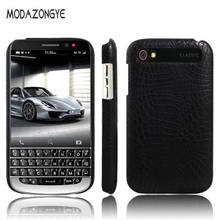 For BlackBerry Q20 Case BlackBerry Classic Q20 Case Luxury PU Leather Hard Plastic Back Cover Phone Case For BlackBerry Q20 Q 20