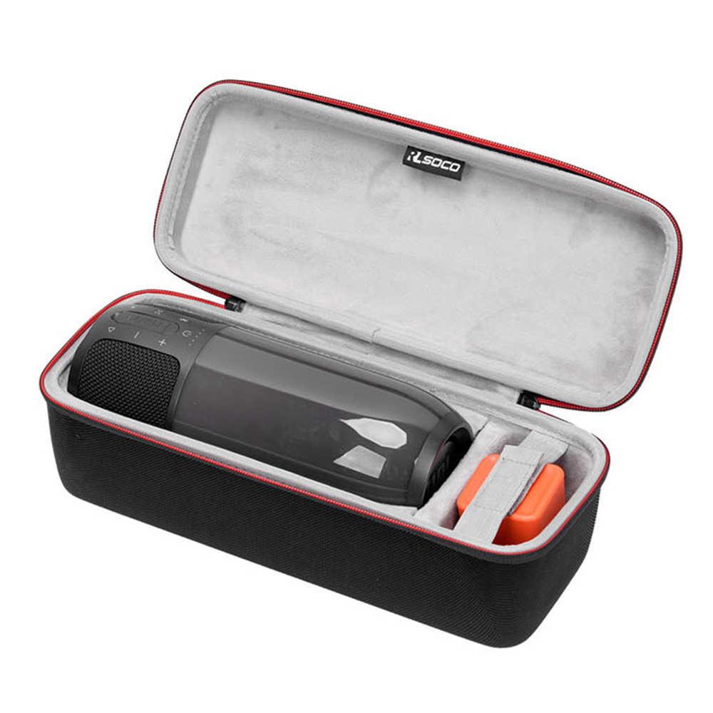 Najnowszy EVA PU Carry ochronna obudowa głośnika etui torba do JBL impulsu 3 Pulse3 głośnik bluetooth-dodatkowe miejsce na plug & kabel