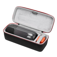 Newest EVA PU Carry Protective Speaker Box Pouch Bag Case For JBL Pulse 3 Pulse3 Bluetooth Speaker-Extra Space for Plug&Cable(China)