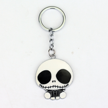 Nightmare Before Christmas Jack Popular Cartoon Keychain Marvel Key Ring