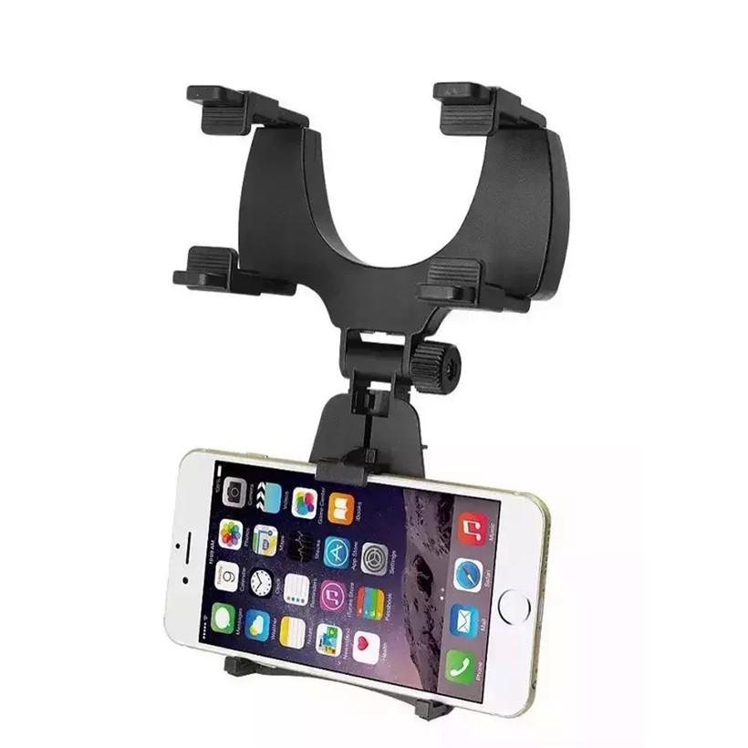 Hot selling Car Rearview Mirror Mount Holder Stand Cradle For Cell Phone GPS drop shipping 0619