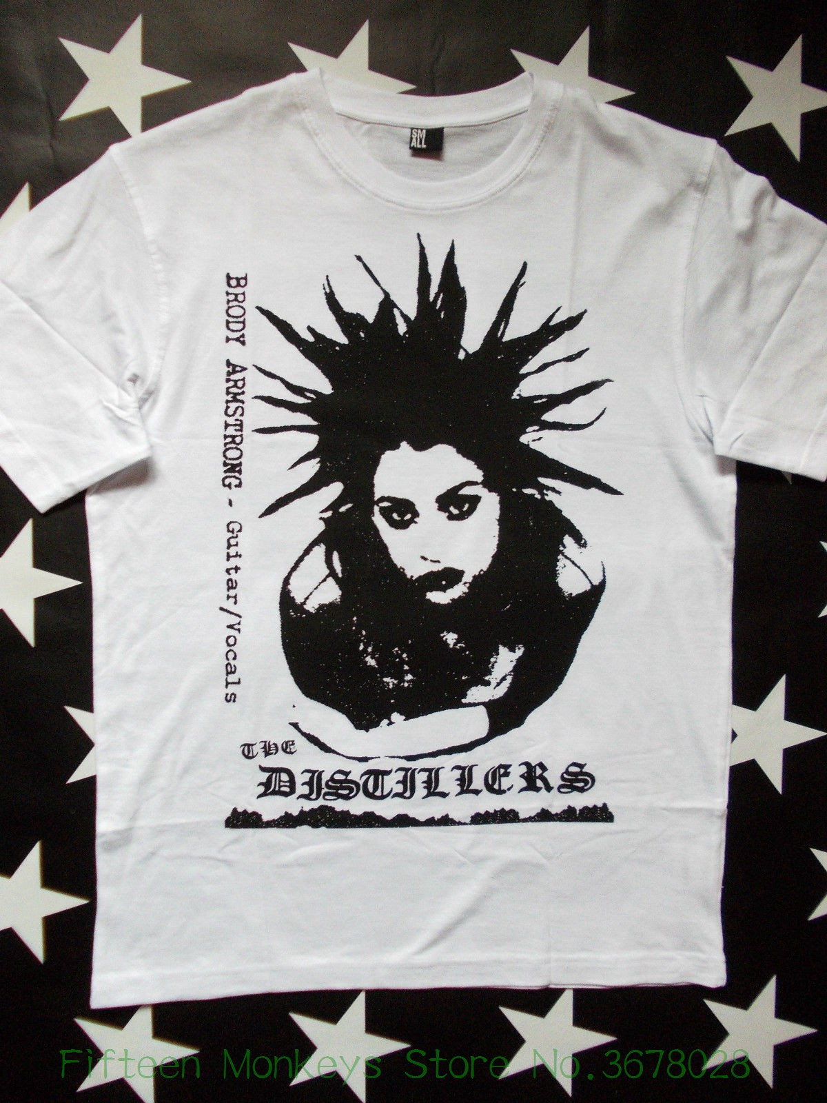 Hot Sale T Shirt Fashion The Distillers Punk Rock Screen Printed Circuit Board Tshirts Sizes S Xxl Brody Dalle Rancid