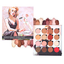 12 Colors Eyeshadow Palette Shimmer Matte Nude Smoky Makeup Kit Balm Silky Powder Cosmetic Set 12NB