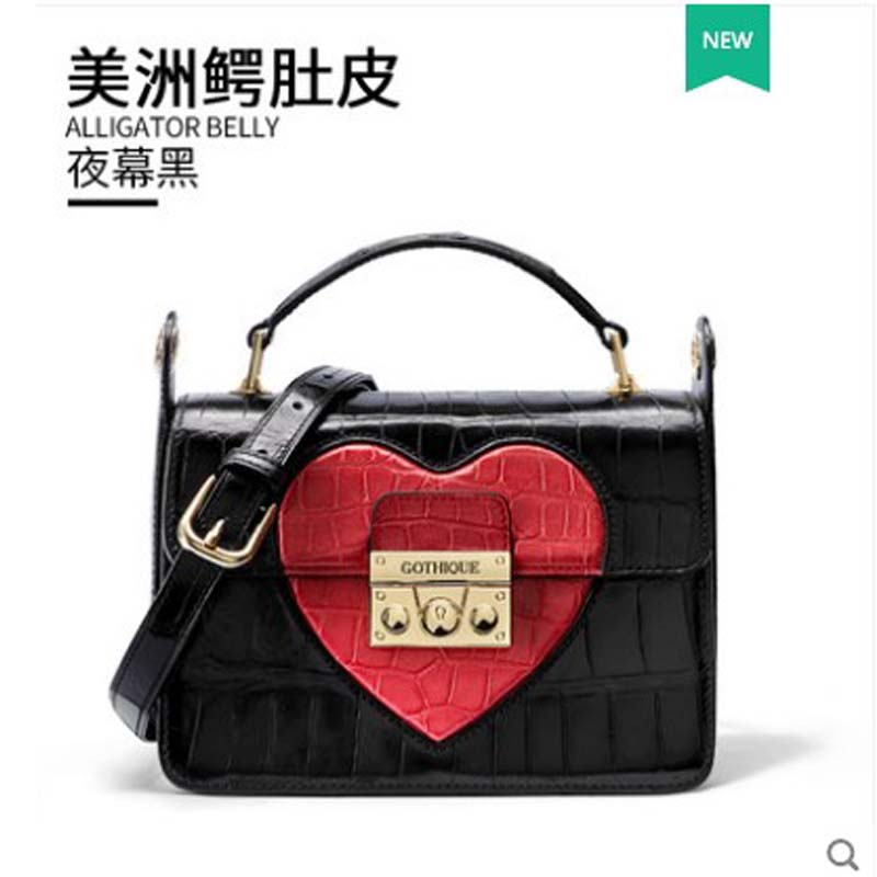 gete crocodile  Womens bag 2019 new style  Alligator belly tote stylish leather lady cross body bag stylishgete crocodile  Womens bag 2019 new style  Alligator belly tote stylish leather lady cross body bag stylish