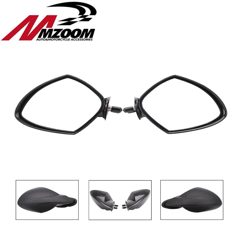 Free Shipping For Yamaha OEM PWC WaveRunner LH RH Black Mirror Set 2005 2009 VX 110