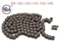 136 142 144 152 158 25H Chain Spare Master Links Motocross For 47cc 49cc Mini Dirt ATV Motor Pocket Bikes Minimoto