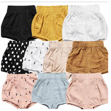 Baby Bloomers South Korea Female children's clothing baby shorts Pure cotton leggings wholesale Bread of shorts