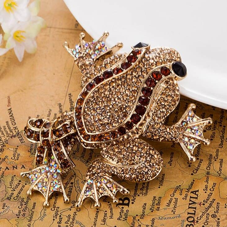 Nueva Exquisita Pin broche animal de plata y bronce Elefante Lindo Regalo para Mujer FG
