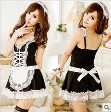 New Fashion Sexy Women Costumes Maid Uniforms Lolita Maid dress COS Game Show KTV Princess Maid Outfit Cosplay Dress