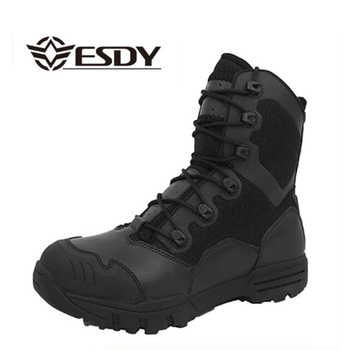 Winter Men Military Boots Leather Special Force Desert Tactical Combat Army Boots Men\'s Safty Work Shoes - DISCOUNT ITEM  22 OFF All Category