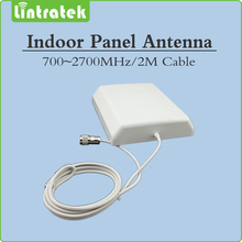 700 2700MHz 2G 3G 4G Indoor Panel antenna with 2m cable indoor Antenna for Mobile Signal