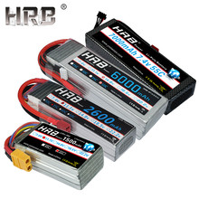 HRB Lipo Battery 2S 3S 4S 5000mah 6000mah 2600mah 7000mah 1500mah 11.1V 7.4V 14.8V 6S 22.2V XT60 Deans T RC Airplanes Cars Parts(China)