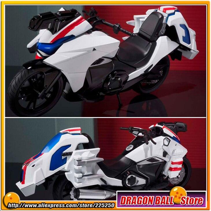 "Japan ""Masked Kamen Rider Drive"" Original BANDAI Tamashii Nations SHF/ <font><b>S.H.</b></font><font><b>Figuarts</b></font> PVC Action Figure Bike - Ride Macher"