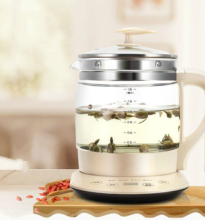 health - raising pot fully automatic thickened glass Safety Auto-Off Function