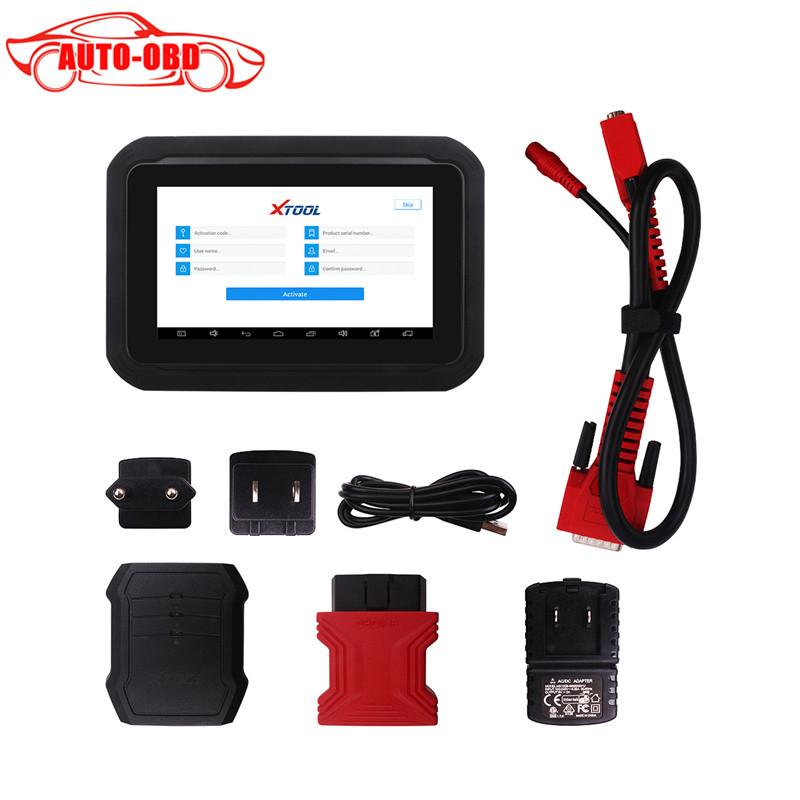 100 Original XTool EZ300 With 5 Systems Diagnosis Engine ABS SRS Transmission and font b TPMS