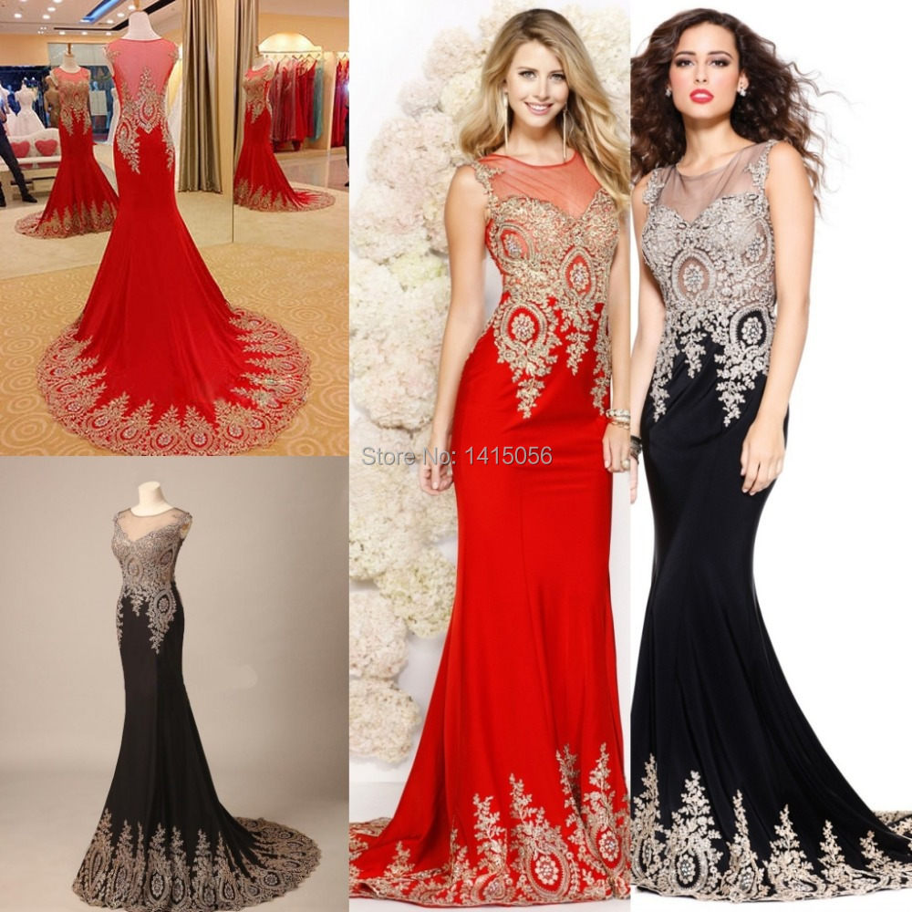 Aliexpress.com : Buy 2015 New Arrival Real Sample Long Elegant ...