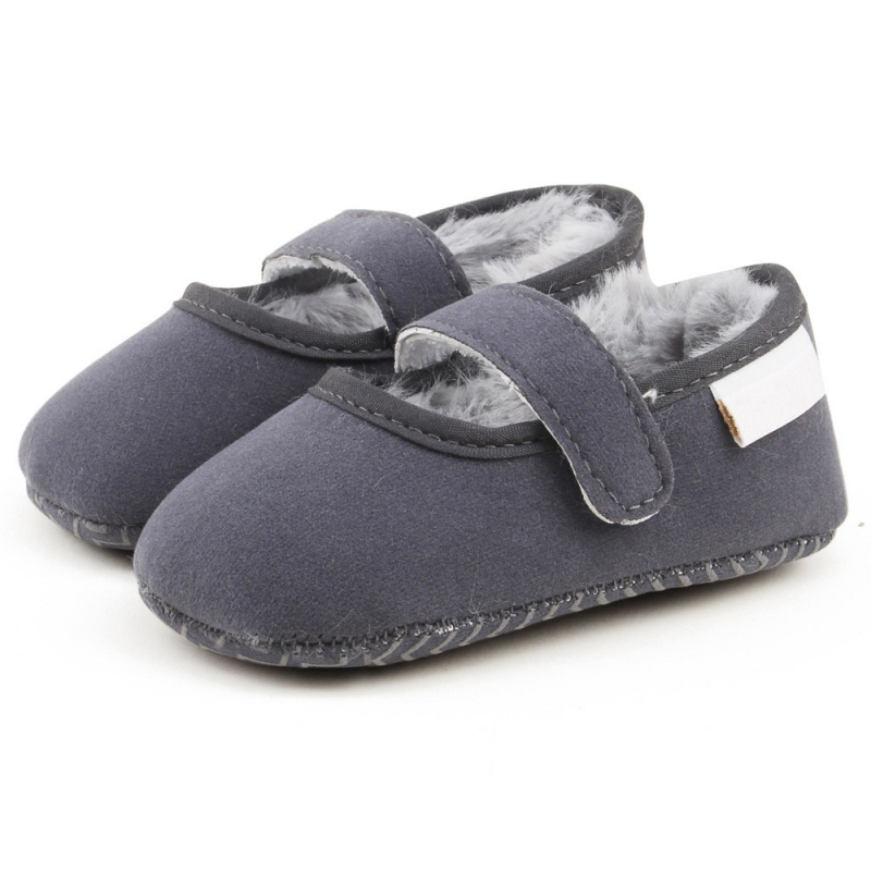 Baby Shoes First Walkers Winter Warm Baby Boy Girls Shoes Infant Soft Sole Plush Cloth Crib Shoes