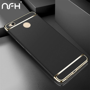 NFH 4x Luxury Ultra Thin 360 Full Cover Phone Cases for Xiaomi On Redmi 4X Case Plating Protective Phone Cover For Redmi 4X Case