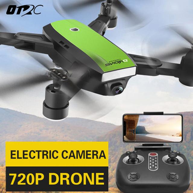 OTRC GPS RC Drone FPV Follow Me Quadcopter Wide-Angle 720P HD WIFI Camera Altitude Hold Intelligent Battery Aircraft MINI DRONES
