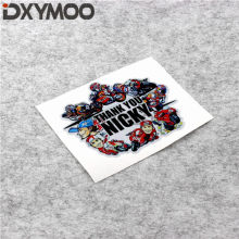 Creative Universal MOTO GP Racers Sticker 3M Waterproof for Nicky 69 THANK YOU 120x100mm(China)
