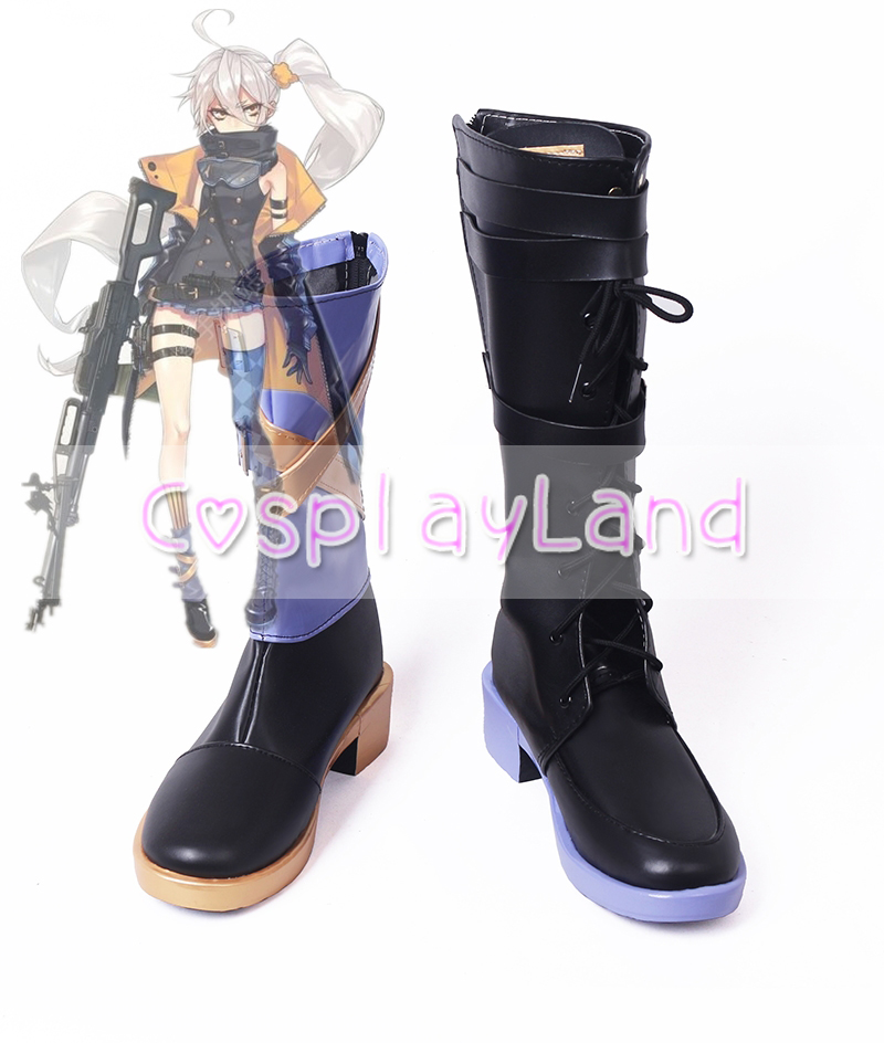 Girls' Frontline pkp Cosplay Shoes Flat Shoes Halloween ...