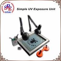 SPE Simple UV Exposure Unit Screen Printing Equipment Screen Press Expose