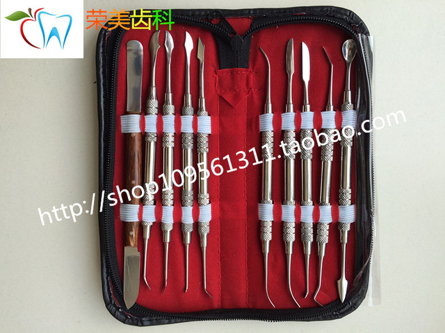 Cera Dental technicians cincel cuchillo mecánico cera Cera Kit de Herramientas kit de materiales dentales