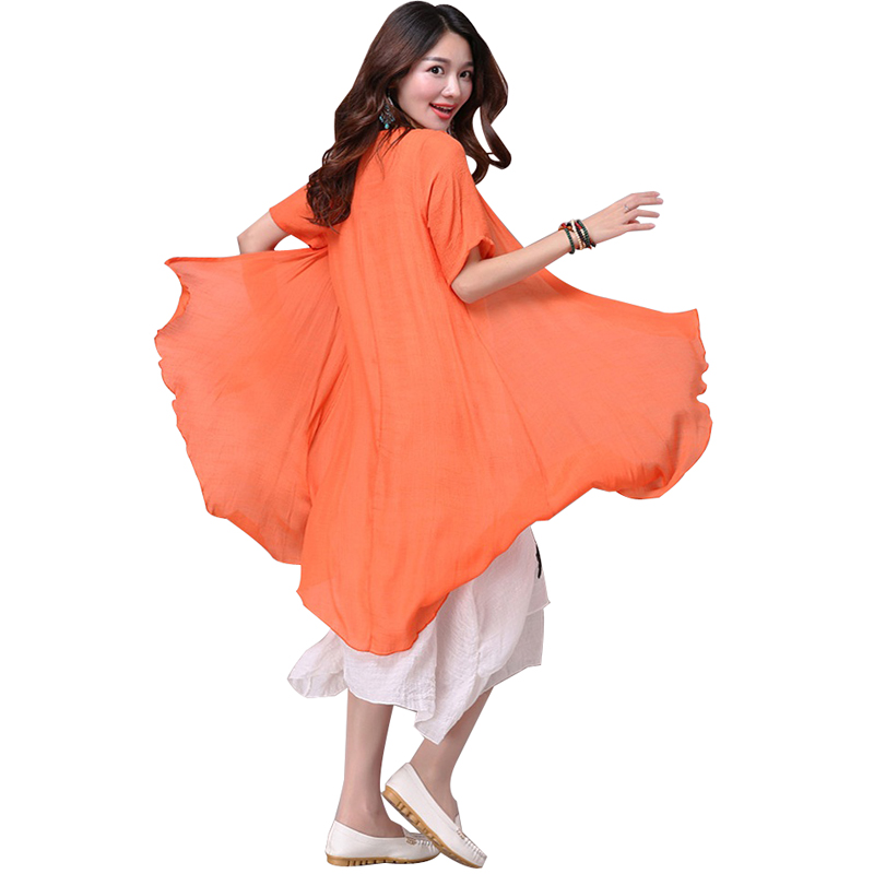 CUERLY 2019 New summer dress women clothing Small fresh long dress Fake two pieces Dress loose big Size CUERLY Elbise Robe M 4XL in Dresses from Women 39 s Clothing