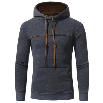 Casual Solid color Hooded Jackets