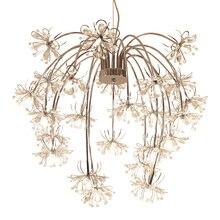 Art декор дизайн современный хрустальные люстры AC110V 220 В блеск cristal светодио дный столовая гостиная огни