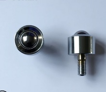 M8 screw Cylindrical straight bovine universal ball bearing SP15-FL