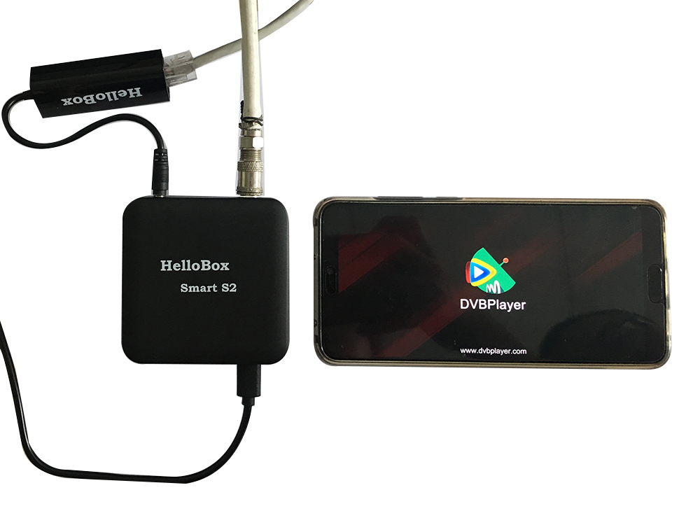 Hellobox Smart S2 Play Satellite TV Channels on Smart Mobile Phone ...